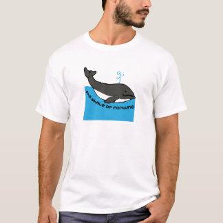 T-shirt Baleine de la fortune