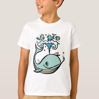 T-shirt Baleine d'un capitaine ! par Tiki élégant