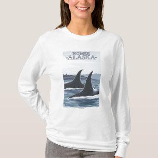 T-shirt Baleines #1 - Homer, Alaska d'orque