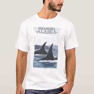 T-shirt Baleines #1 - Wrangell, Alaska d'orque