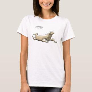 T-shirt baliverne de dragon de komodo