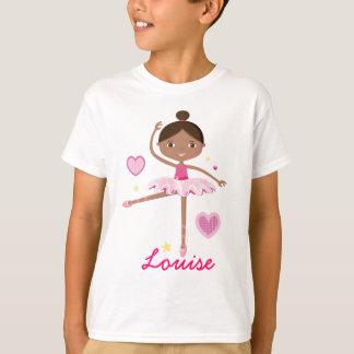 T-shirt Ballerine personnalisée B