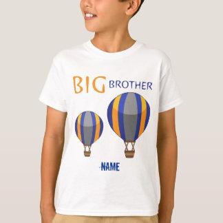 T-shirt Ballon à air chaud de frère personnalisé
