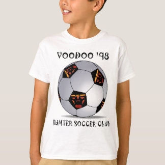 T-shirt Ballon de football du vaudou '98 de Sumter