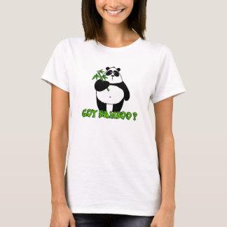 T-shirt bambou obtenu ?