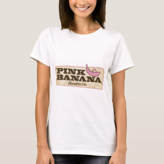 T-shirt Banane rose