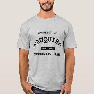 T-shirt Bande de Fauquier -- CLARINETTE BASSE