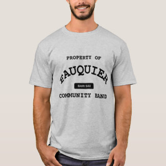T-shirt Bande de Fauquier -- SAXO DE BARI