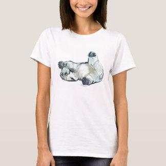 T-shirt Bande de frottement de neige