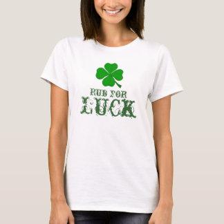 T-shirt Bande de frottement pour la chance