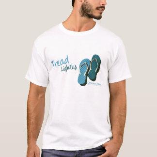 T-shirt Bande de roulement de bascules électroniques
