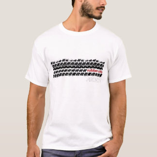 T-shirt Bande de roulement en caoutchouc de pneu de ville