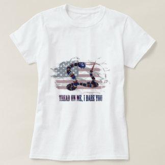 T-shirt Bande de roulement sur moi, je vous ose
