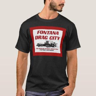T-shirt Bande d'entrave de Fontana