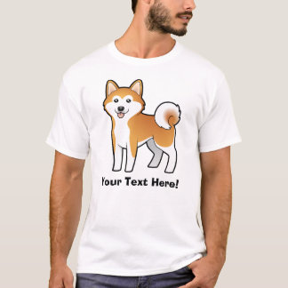 T-shirt Bande dessinée Akita Inu/Shiba Inu