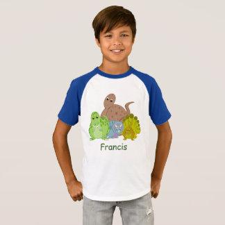 T-shirt Bande dessinée d'amusement d'un groupe de