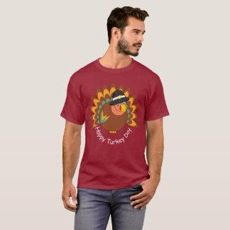 T-shirt Bande dessinée d'amusement d'une dinde de