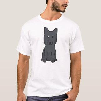 T-shirt Bande dessinée de chien de berger allemand