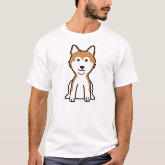 T-shirt Bande dessinée de chien de Shiba Inu