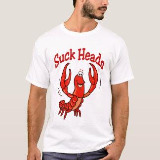 T-shirt Bande dessinée d'écrevisses (écrevisses de Cajun)
