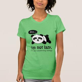 T-shirt Bande dessinée drôle de panda mignon de sommeil