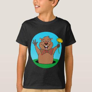 T-shirt Bande dessinée Groundhog