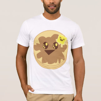 T-shirt Bande dessinée mignonne de crêpes de Kawaii