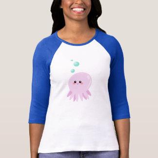 T-shirt Bande dessinée mignonne de poulpe