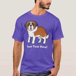 T-shirt Bande dessinée St Bernard