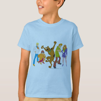 T-shirt Bande entière 16 Mystery Inc