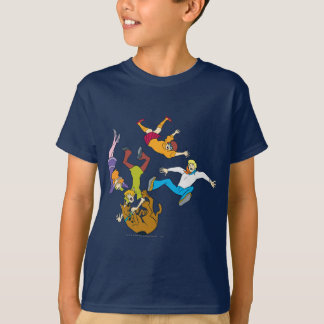 T-shirt Bande entière 17 Mystery Inc