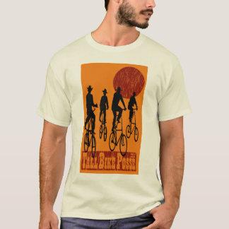 T-shirt Bande grande de vélo