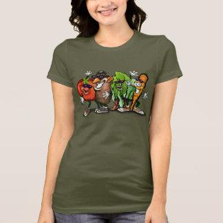 T-shirt Bande végétarienne