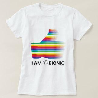 T-shirt bandes dégradées