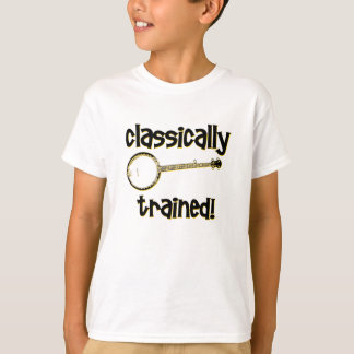 T-shirt Banjo drôle