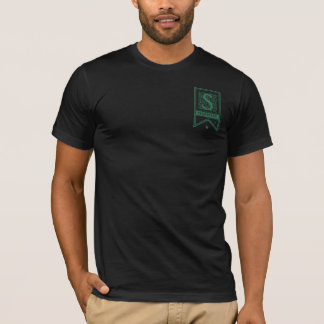 T-shirt Bannière de monogramme de Harry Potter | Slytherin