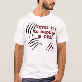 T-shirt Baptisez le chat