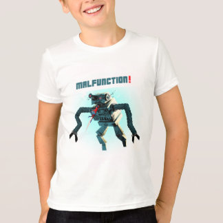 T-shirt Barack combat un robot