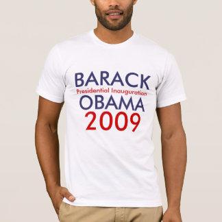 T-shirt BARACK OBAMA, inauguration présidentielle, 2009