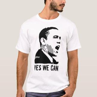 T-shirt Barack Obama, oui nous pouvons