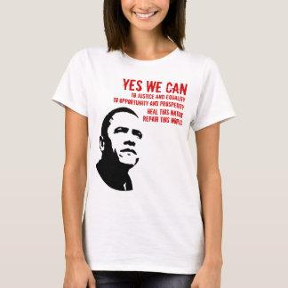 T-shirt Barack Obama : OUI NOUS POUVONS… rd