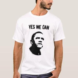 T-shirt Barack Obama. Pochoir YWC