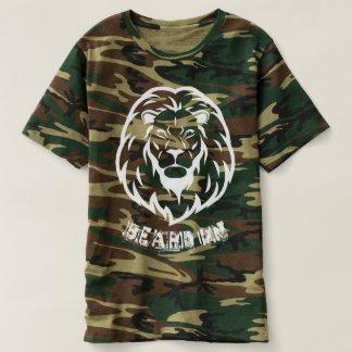 T-shirt Barbe sur la chemise de Camo
