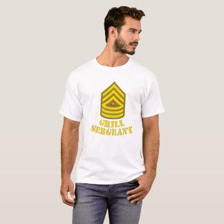 T-shirt Barbecue de sergent de gril fumant la pièce en t