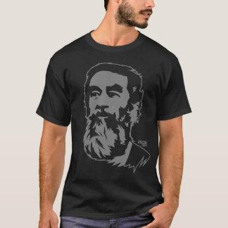 T-shirt barbu de portrait de Saddam Hussein