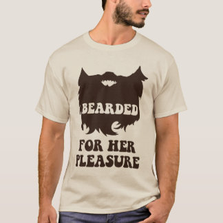 T-shirt Barbu pour son plaisir