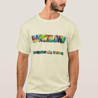 T-shirt Barcelone Gaudi