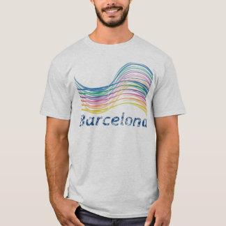 T-shirt Barcelone Ondas