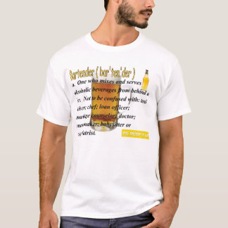T-shirt barman