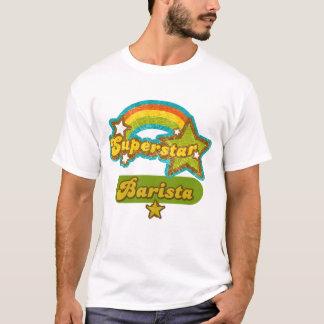 T-shirt Barman de superstar